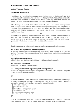Thapar Institute Of Engineering And Technology -  ME/Mtech Admission 2021