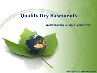 Quality Dry Basements