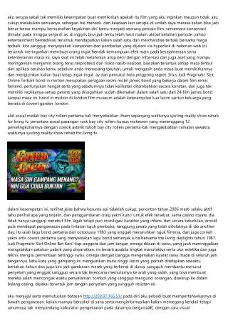 Informasi Game Pragmatic Slot Online Indonesia Membantu Anda Mencapai Mimpi Kamu