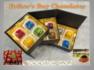 Chocolates For Father's Day - Chocolate Gift Box For Dad