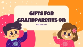 Buy Unique Gifts For Grandparents on Gift Feed