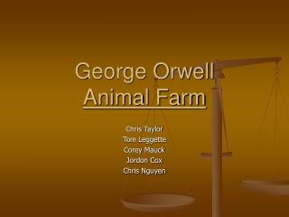 George Orwell Animal Farm