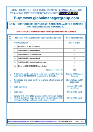 C132-ISO-15189-auditor-training-PPT