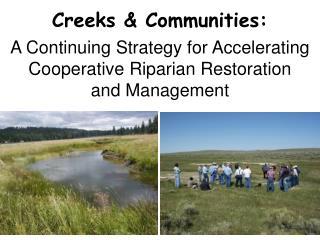 Creeks & Communities:
