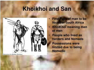 Khoikhoi and San