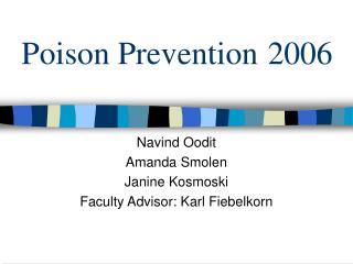 Poison Prevention 2006