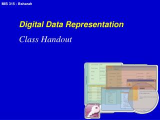 Digital Data Representation