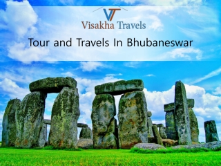 Book the best Tour and Travels in Bhubaneswar at modest price
