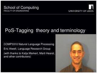 PoS-Tagging  theory and terminology