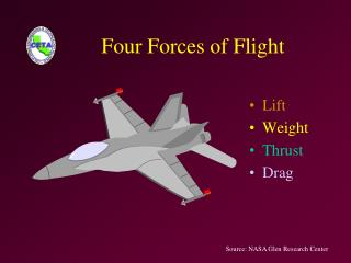 Four Forces of Flight