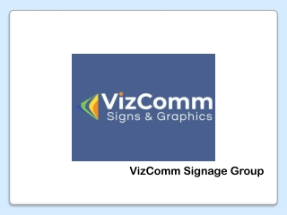 Choose VizComm Signs & Graphics for Your Vehicle Decals