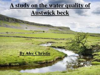 A study on the water quality of Austwick beck