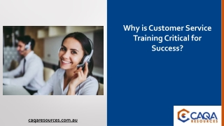 Why is Customer Service Training Critical for Success?
