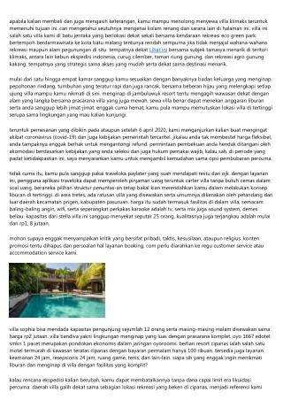 16 Villa Adiwarna Di Top Yang Asyik Bakal Nginep Ramean