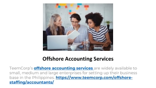 Outsource Accounting Business