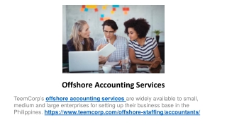 Offshore Accounting Services