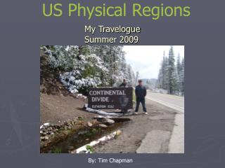 US Physical Regions
