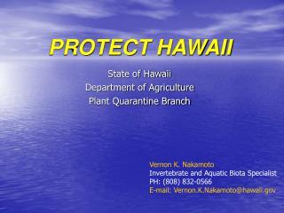 PROTECT HAWAII