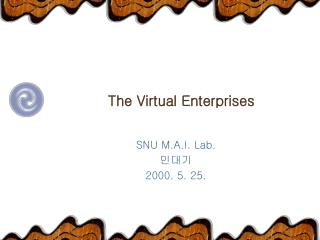 The Virtual Enterprises
