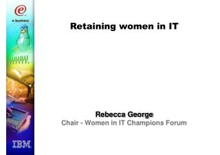 Retaining women in IT