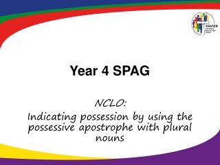 Year 4 SPAG