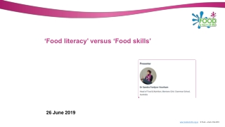 Understanding Culture as one Essential Ingredient of Information Literacy Programming