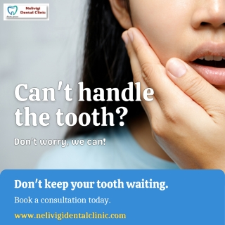 Tooth Pain  Best Dental Clinic in Bangalore   Nelivigi Dental Clinic