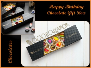 Happy Birthday Chocolate Gift Box | Online Chocolate Delivery For Birthday
