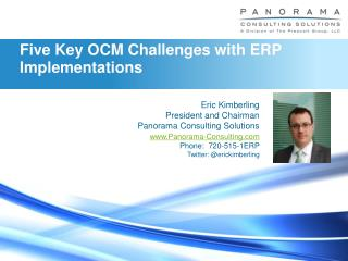 Five Key OCM Challenges with ERP Implementations