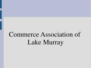 Commerce Association of  Lake Murray