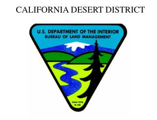CALIFORNIA DESERT DISTRICT