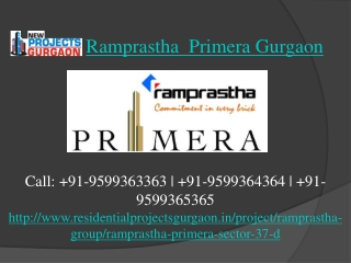 Ramprastha New Projects@ 9599363363