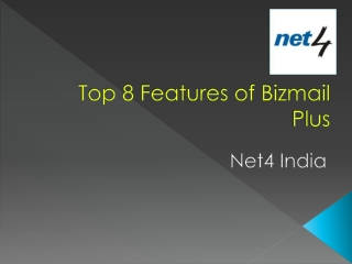 Top 8 Features of Bizmail Plus