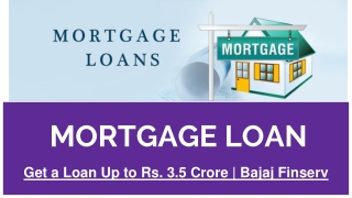 Mortgage Loans With Best Interest Rates