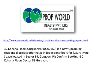 3c Kohana Floors 9811004272 3c Kohana Floors Gurgaon 3c Koha