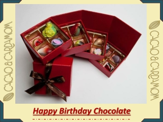 Best Chocolate For Birthday Gift | Gourmet Chocolate Gifts