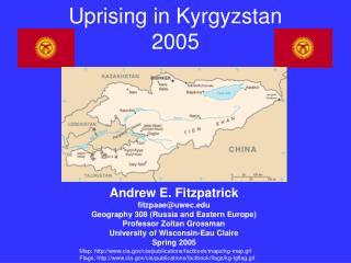 Uprising in Kyrgyzstan 2005