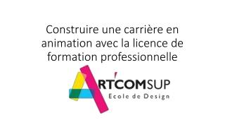 Construire une carrière en animation avec la licence de formation professionnelle