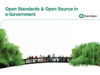 Open Standards  Open Source in      e-Government