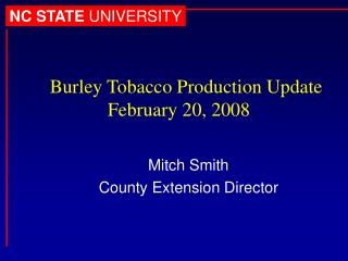 Mitch Smith County Extension Director