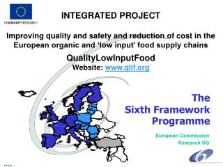 The  Sixth Framework  Programme