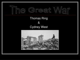 Thomas Ring & Cydney West