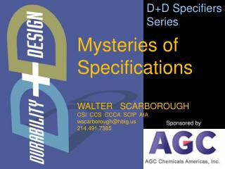 WALTER   SCARBOROUGH CSI  CCS  CCCA  SCIP  AIA wscarborough@hbig.us 214.491.7385