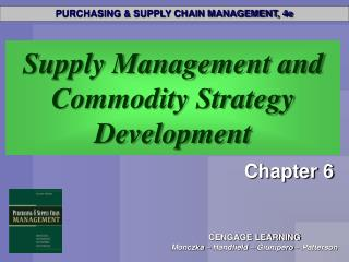 Supply Management and Commodity Strategy Development