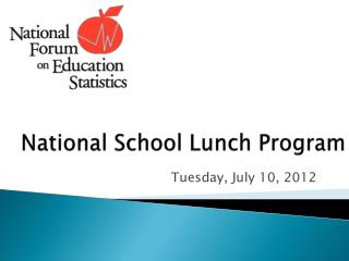 National School Lunch Program