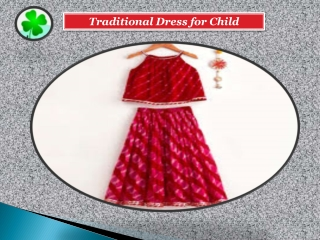TRADITIONAL DRESS FOR CHILD