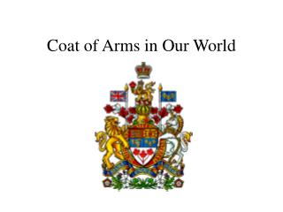 Coat of Arms in Our World
