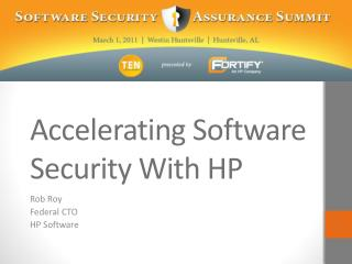 Accelerating Software Security With HP