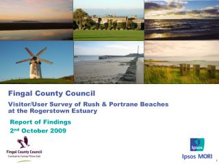 Fingal County Council Visitor/User Survey of Rush & Portrane Beaches at the Rogerstown Estuary