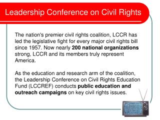 Leadership Conference on Civil Rights